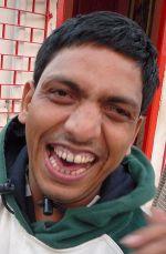 2008 - Bablu Lal laughing