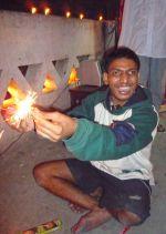 shuktara 2008 - celebrating Kali Puja Bablu Lal