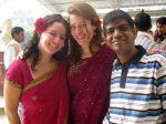 shuktara January 2010 - Rachel, Lauren and Sunil at GRO Open House