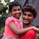shuktara 2014 - Pinku with Prity