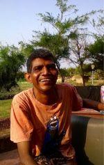 shuktara May 2015 - Sunil in cookie monster shirt Puri holiday
