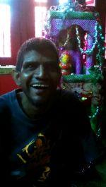 shuktara July 2015 - Sunil with his Rath Yatra chariot