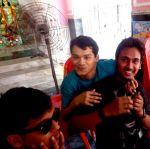 shuktara 2015 - Durga Puja, Ashok with his mates