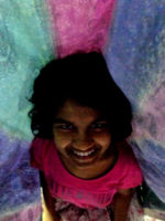shuktara 2015 - Prity with colours