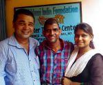 shuktara May 2016 - Pappu, Sunil and Rabia in front of Uddami