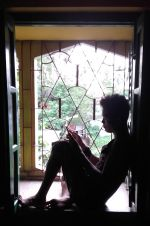 shuktara home for disabled youth - Raja in the window