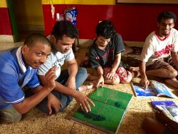 shuktara home for young people with disabilities - 2016 July - Bablu, Pappu, Ashok & Raju