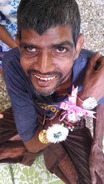 shuktara home for young people with disability - 2016 Sunil on Raksha Bandhan