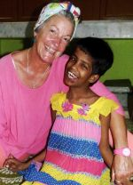 shuktara home for girls with disability - 2016 September - Tracy and Guria