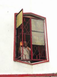 shuktara home for disabled young adults - 2016 November - Bablu at the window