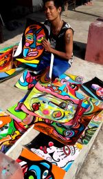 shuktara home for young adults with disability - more paintings