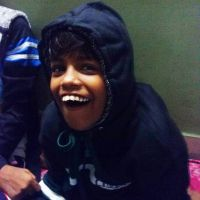 shuktara home for disabled girls - 2016 December - Guria in a hoodie
