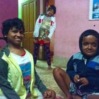 shuktara home for disabled girls - 2016 December - Prity, Muniya and Moni