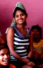 shuktara 2016 March - Ipshita with Lali and Guria on Holi