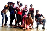 shuktara home for young adults with disabilities - 2017 January - Shuktara Cakes on the beach in Digha