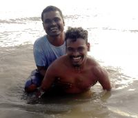 shuktara home for young adults with disabilities - 2017 January - Somnath and Raju in Digha