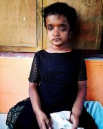 shuktara home for girls with disabilities - 2017 March - Moni sitting
