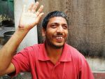 shuktara home for young people with disabilities - 2017 April - Bablu Lal waving hello