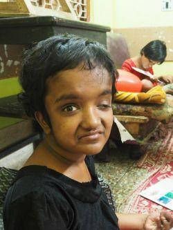 shuktara home for disabled girls - 2017 March - Moni