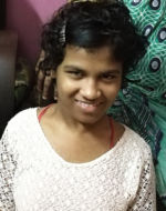 shuktara home for girls with disabilities - 2017 April - Prity at home