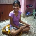 shuktara home for young Deaf adults - 2017 April - Ipshita at home
