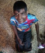 shuktara homes for young people with disabilities - 2017 June - Sunil smiling as usual