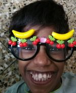 shuktara homes - 2017 June - wearing fruit glasses
