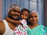 shuktara home for young people with disabilities - Sanjay and his family