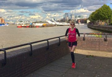 2017 September - Hannah training