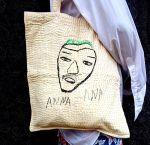 shuktara ANNA ANA BAG - Anna's drawing becomes wearable art!