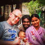 shuktara - David, Sanjay, Munni and baby Sumi 2016