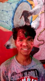 shuktara - Rajesh on Holi