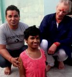 shuktara homes for young adults with disability - puja at Lula Bari