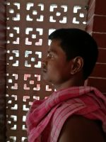 shuktara home for young people with disabilities - 2017 March - Bapi at home