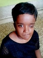 shuktara home for girls with disabilities - 2017 April - Moni's new haircut