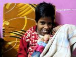 shuktara - Guria with Christmas doll 2015