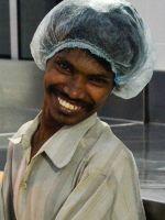 shuktara - Ramesh at work at Shuktara Cakes