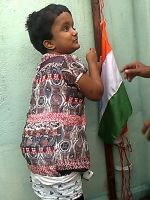 shuktara - Moni celebrates Independence Day - 2015