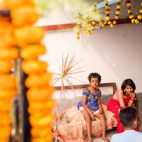 shuktara home for young people with disabilities - Sara Hannay photography - Saraswati Puja 2017