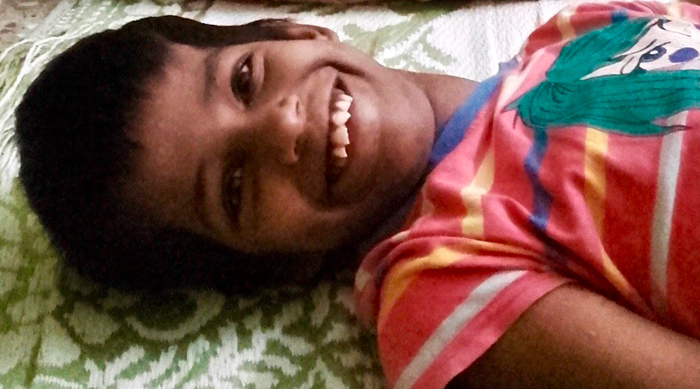 shuktara home for disabled girls - 2016 July - Guria before tuitions start with Priyanka