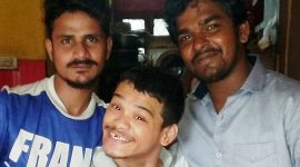 Sanjib's birthday at shuktara
