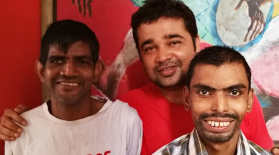shuktara homes for young people with disabilities - 2017 - 1st July, 18th anniversary of shuktara - Sunil, Pappu and Anna