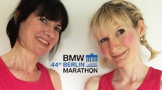Running Berlin Marathon for shuktara