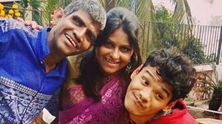 shuktara homes - 2018 August - Rabia with Sunil and Ashok at shuktara