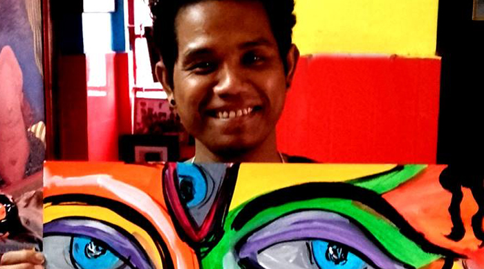 shuktara home for young adults with disabilities - 2016 - artist Raja Mohan Das