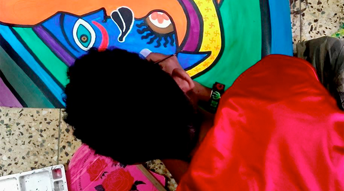 shuktara May 2016 - Raja painting