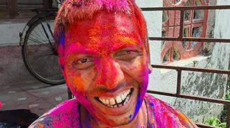 Spring festival of Holi