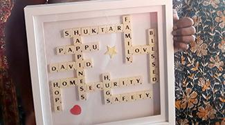 Denise Deering's gift to shuktara