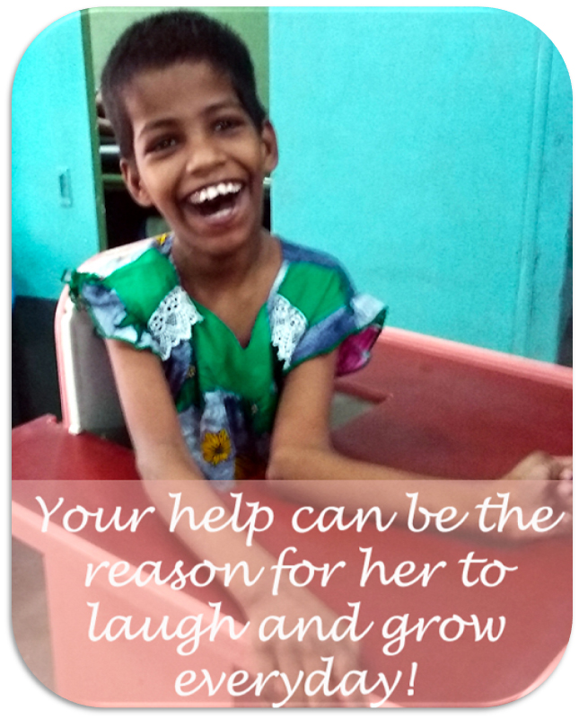 Shuktara cares for disability - Smiling Guria