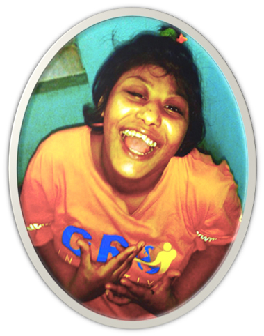 shuktara home for disabled girls - Muniya laughing